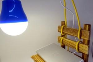 簡易LEDランプ完成!