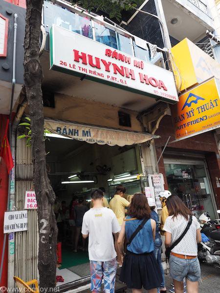 「Banh Mi Huynh Hoa」