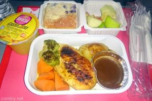 Airasia Chicken Stuffing Cranberry Sauce