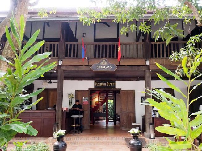 3 Nagas Luang Prabang Mgaller by Sofitel,Luang Prabangフロント