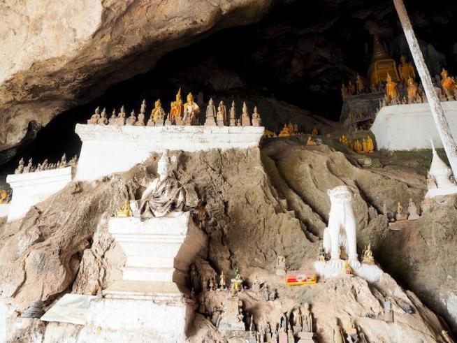 パクオウ洞窟 タム・ティン