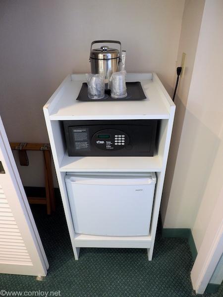 金庫と冷蔵庫