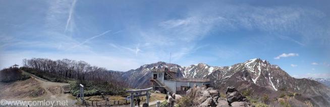 天神山 山頂