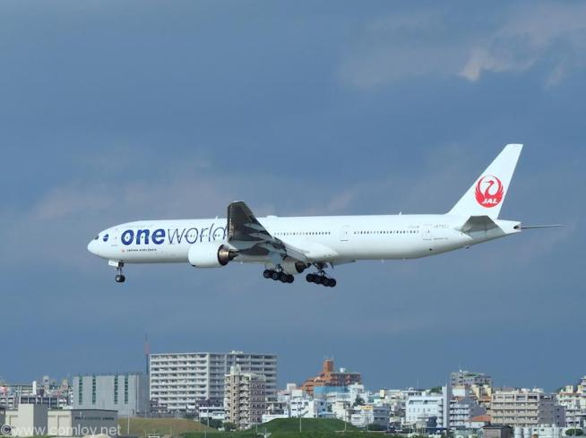 JAL B777 ONEWOLD塗装