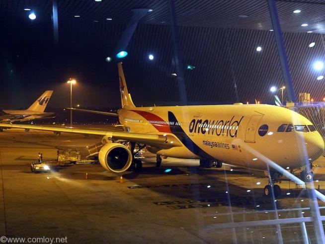 マレーシア航空 MH88 クアラルンプール - 成田 A330-300
