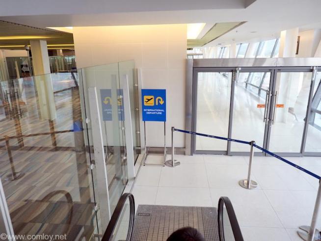 プーケット空港 新国際線ターミナル ボーディング