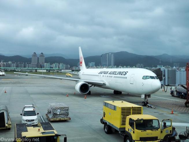 日本航空 JL98 台北(松山) - 羽田 Boeing 767-300ER JA651J
