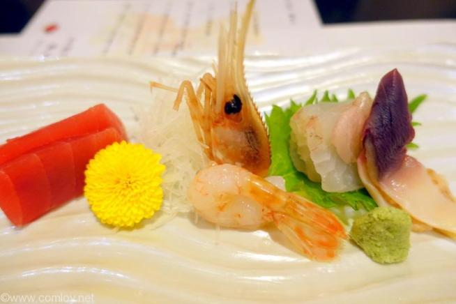 北海道ホテル 和食 六郎 お造り 料理長特選