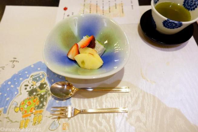 北海道ホテル 和食 六郎 デザート