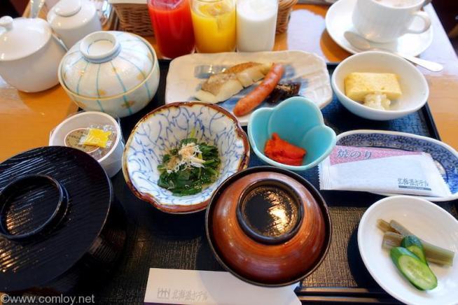 北海道ホテル 和朝食 2日目