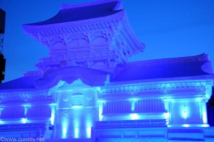 SAPPORO SNOW FESTIVAL 2015 春日大社 中門