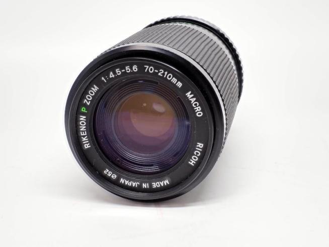 RIKENON P ZOOM 4.5-5.6 70-210mm