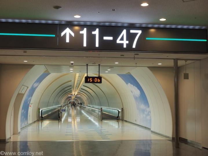 成田空港 秘密の地下道?