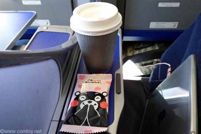 全日空 ANA467 羽田 - 沖縄 プレミアムクラス機内食