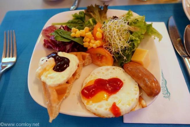 「MARINA MANDARIN」2日目朝食