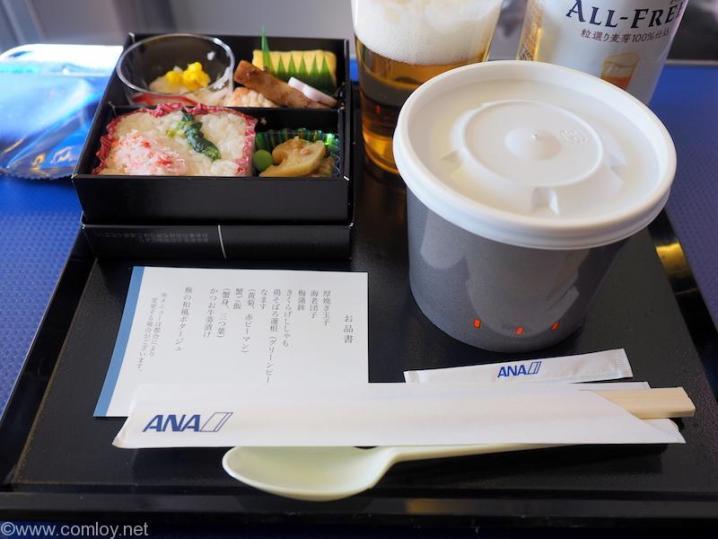 ANA463 羽田 - 沖縄 プレミアムクラス機内食
