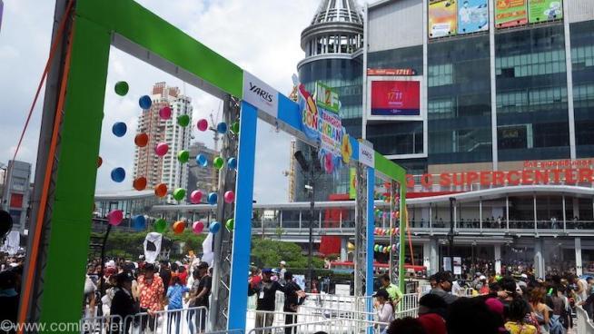 セントラル・ワールド伊勢丹前広場
