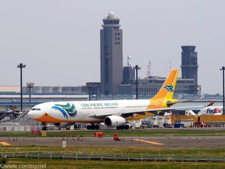 セブパシフィック航空 (Cebu Pacific) A330-300  機体番号RP-C3345 型式A330-343E 製造番号1552 登録2014/08