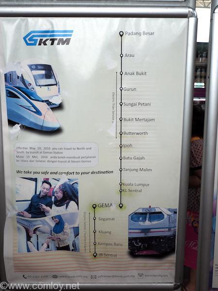 マレーシア鉄道網