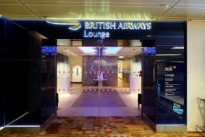 Singapore Changi airport terminal1 'BRITISH AIRWAYS Lounge'
