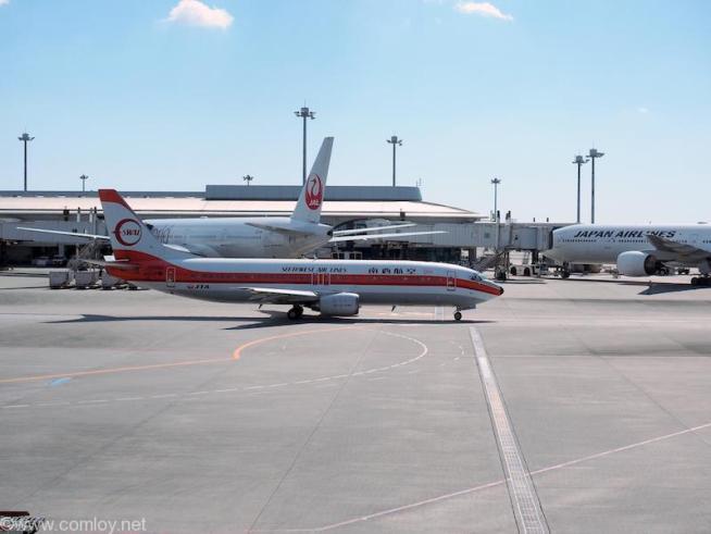 JTA 南西航空塗装機
