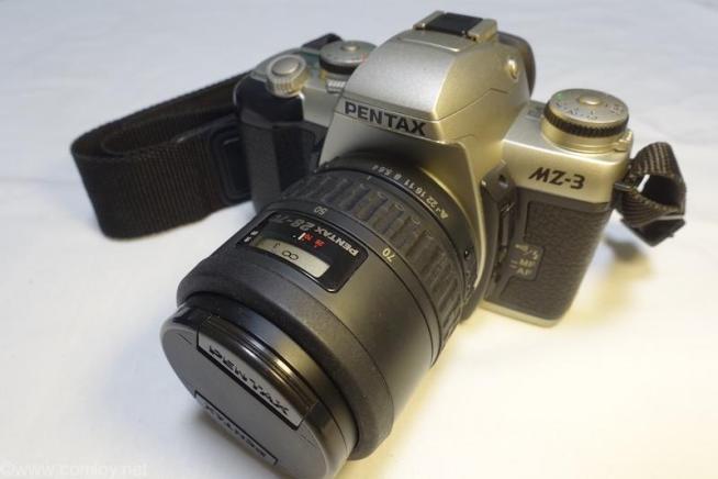 PENTAX MZ-3 +PENTAX 28-70