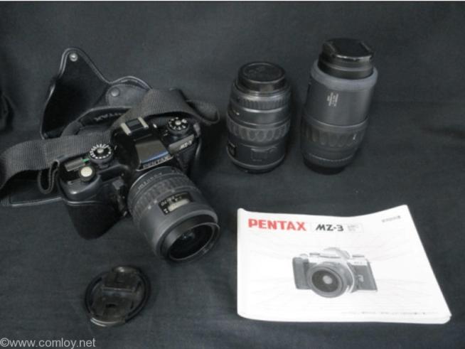 PENTAX MZ-3とレンズ3本