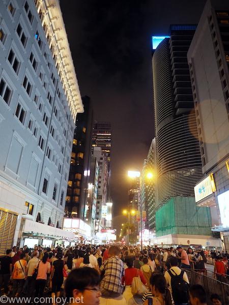 香港 国慶節花火