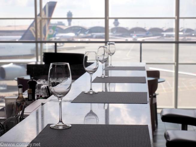 香港国際空港 カンタス航空ビジネスクラスラウンジ
