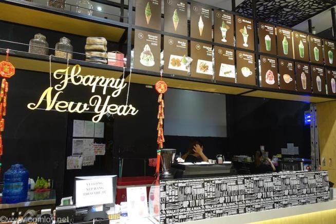 AEON Mall Tan Phu Celadon 抹茶カフェ山本