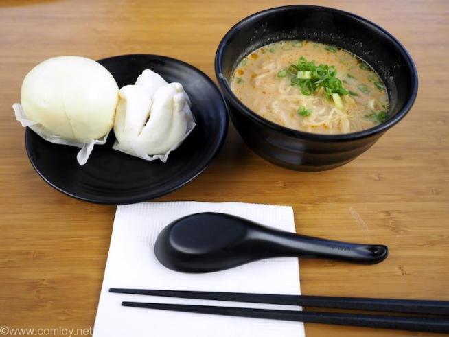 香港国際空港 キャセイパシフィック ラウンジ 担々麺