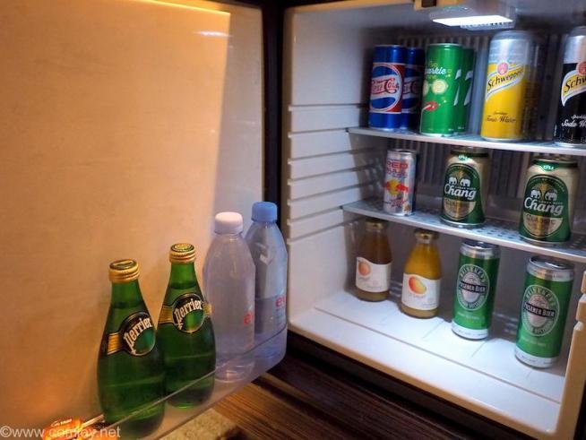 Le Meridian Bangkok(ル・メリディアン バンコク)冷蔵庫の中