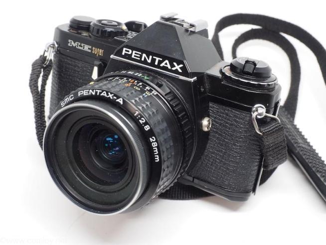 PENTAX ME super + smc PENTAX -A 28mm