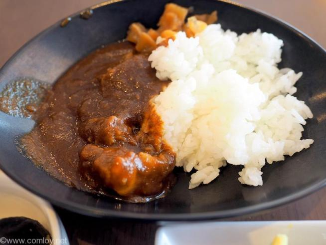JAL First Class Lounge JALカレー