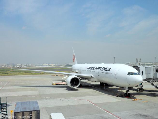 日本航空 JL31 羽田 - バンコク JA702J B777-200 Boeing777-246/ER 32890/417 2002/09