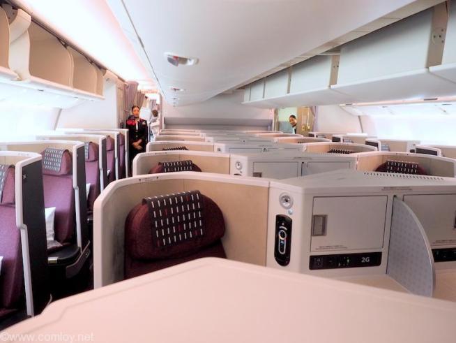 日本航空 JL31 羽田 - バンコク ビジネスクラス