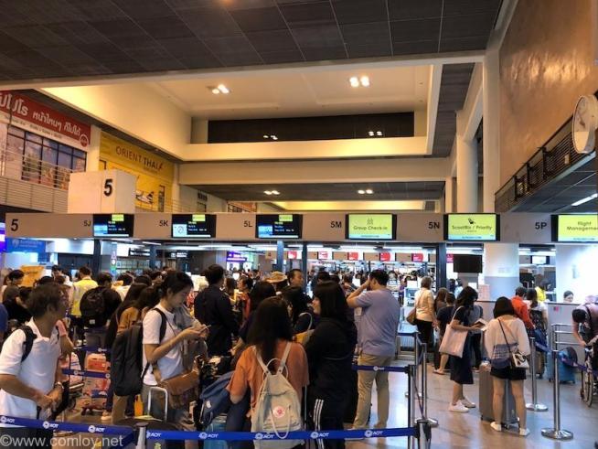 ドンムアン空港(Bangkok Don Mueang Intl)  SCOOT チェックインカウンター
