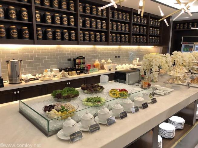 ドンムアン空港(Bangkok Don Mueang Intl) The Coral Executive Lounge buffet2