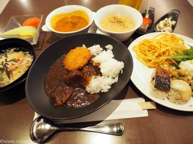 羽田空港 日本航空 ファーストクラスラウンジ 今日のお食事