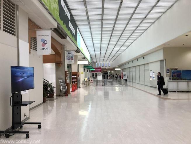 伊丹空港出発ロビー