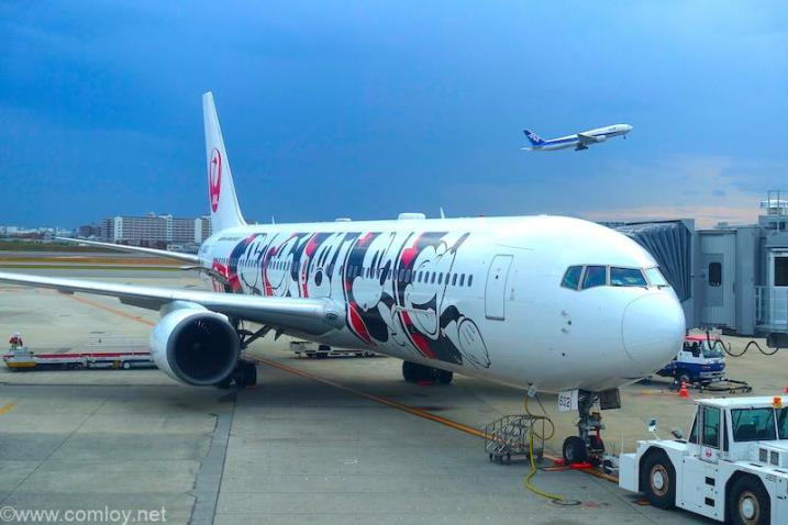 JA602J B868-300 Boeing767-346/ER 32887/879 2002/06〜 ディズニージェット