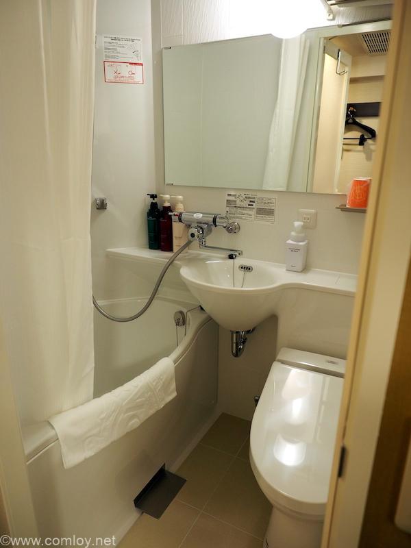 アパホテル<京都駅堀川通>浴室