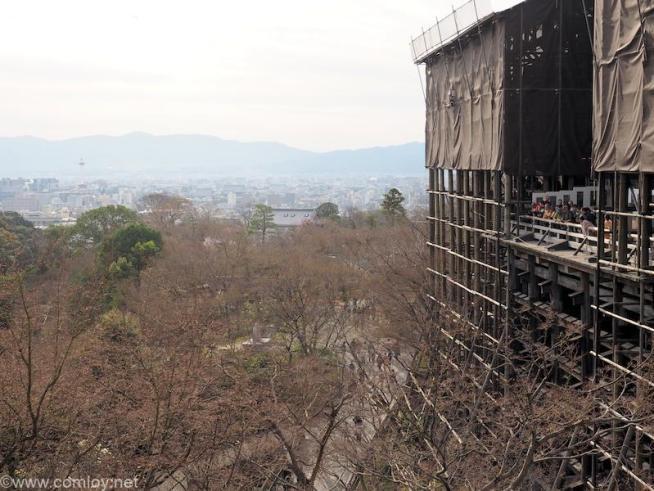 清水寺 清水の舞台