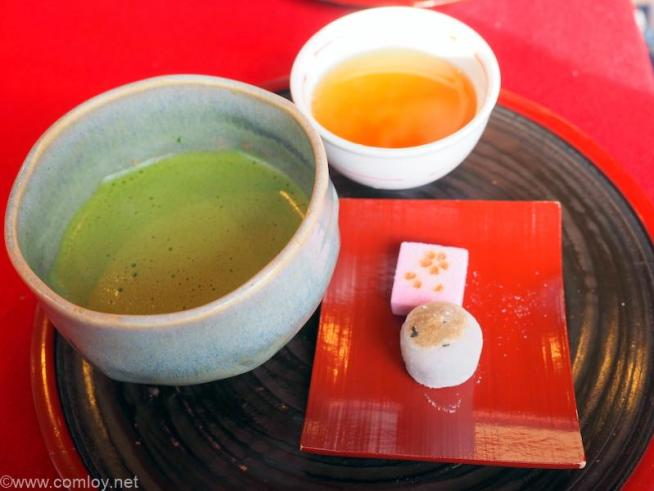 清水寺 お抹茶