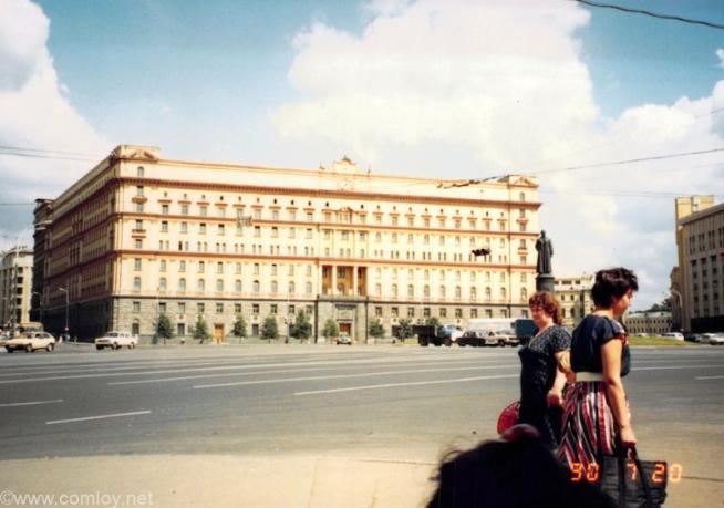 1990年当時のKGB本部