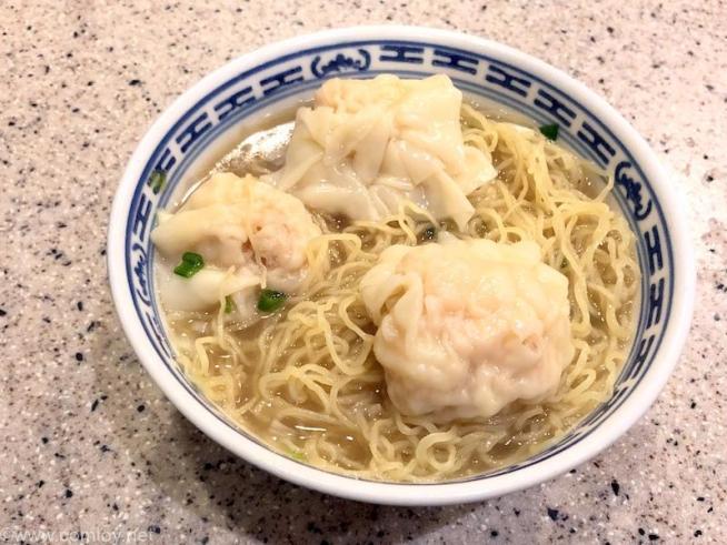 沾仔記 ワンタン麺