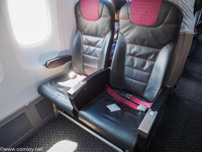 日本航空 JAL909 羽田 - 那覇 エコノミークラス