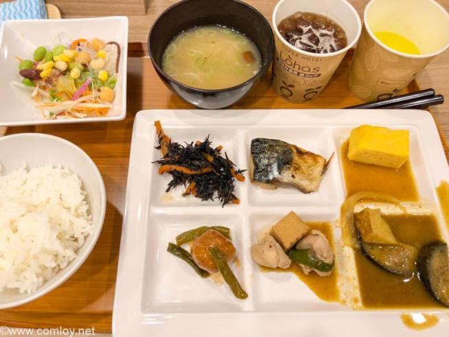スーパーホテル札幌・すすきの 今日の朝ごはん