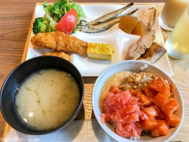 ホテルパコ函館 今日の朝食