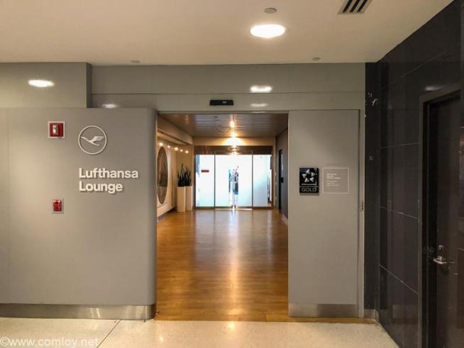 ニューヨーク J.F.K.空港 ルフトハンザ航空(Lufthansa) セネターラウンジ(Senator Lounge)